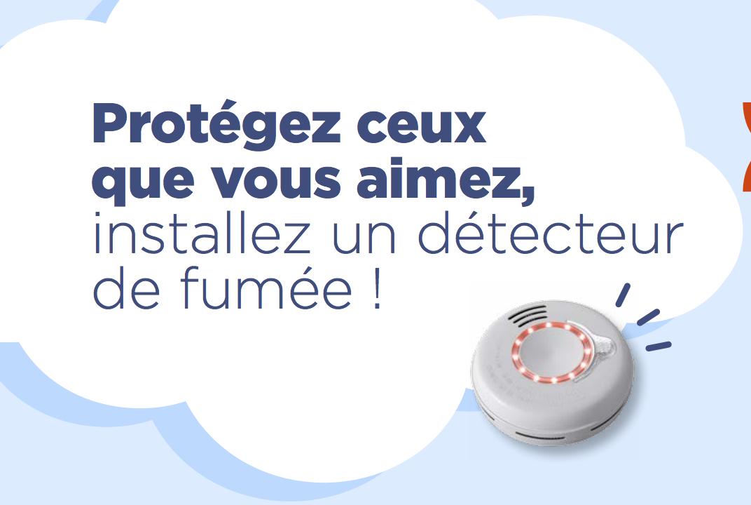 tous les logements doivent être équipés d'un détecteur de fumée d