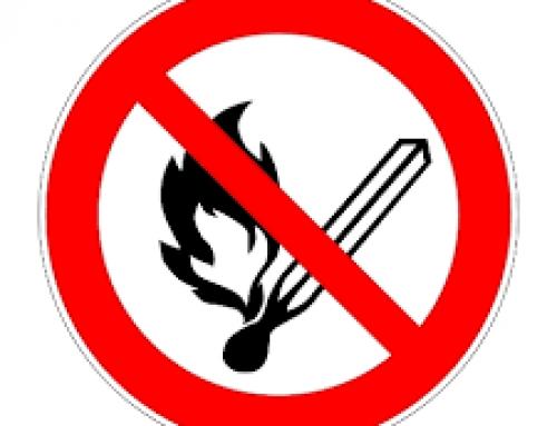 Prévention des incendies : Interdiction de l'emploi du feu les 21 et 22 octobre