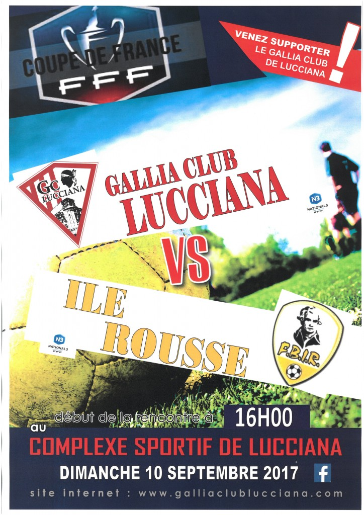 affiche Gallia coupe de France (2)