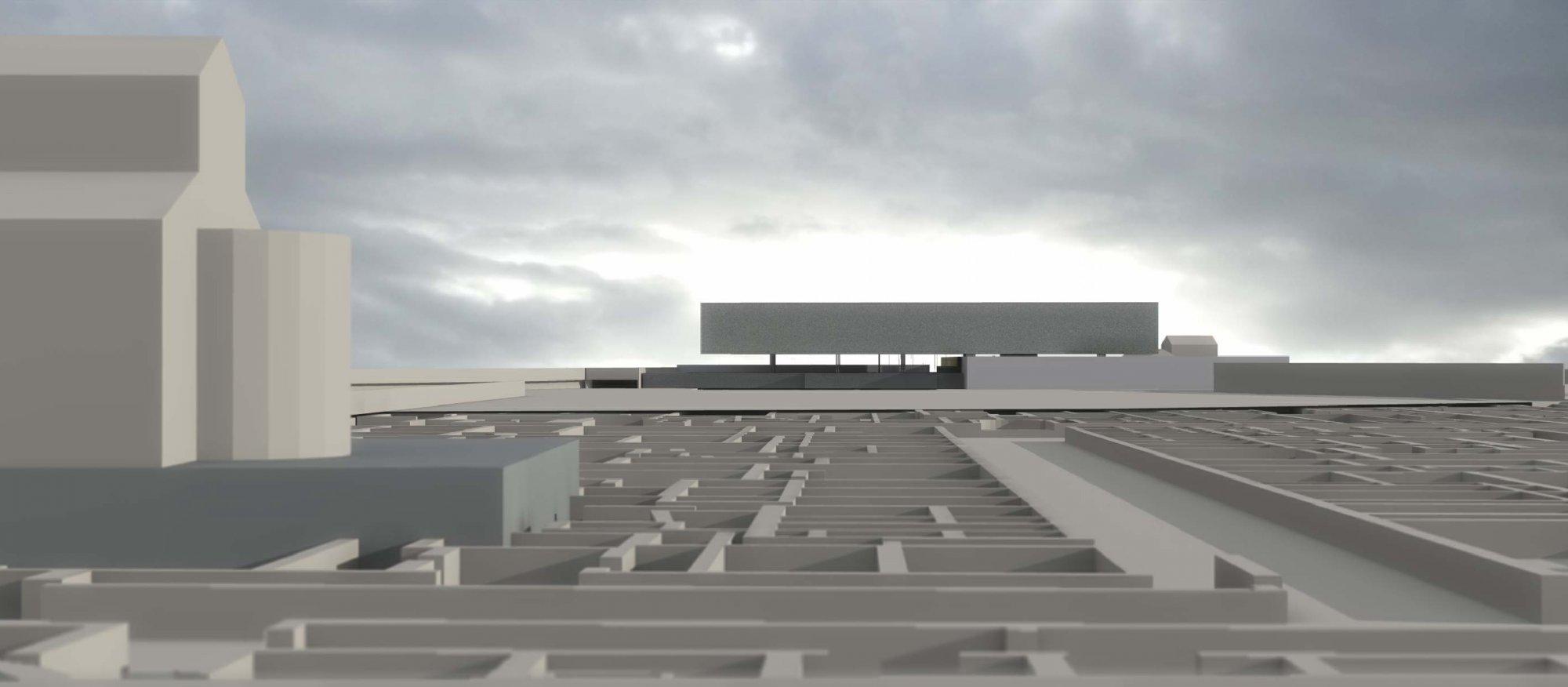 Le futur mus e arch ologique de mariana sur arte ville for Architecture projet