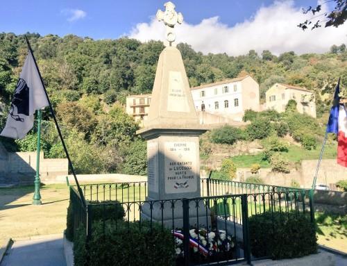 Centenaire : Commémoration de l'armistice du 11 novembre 1918