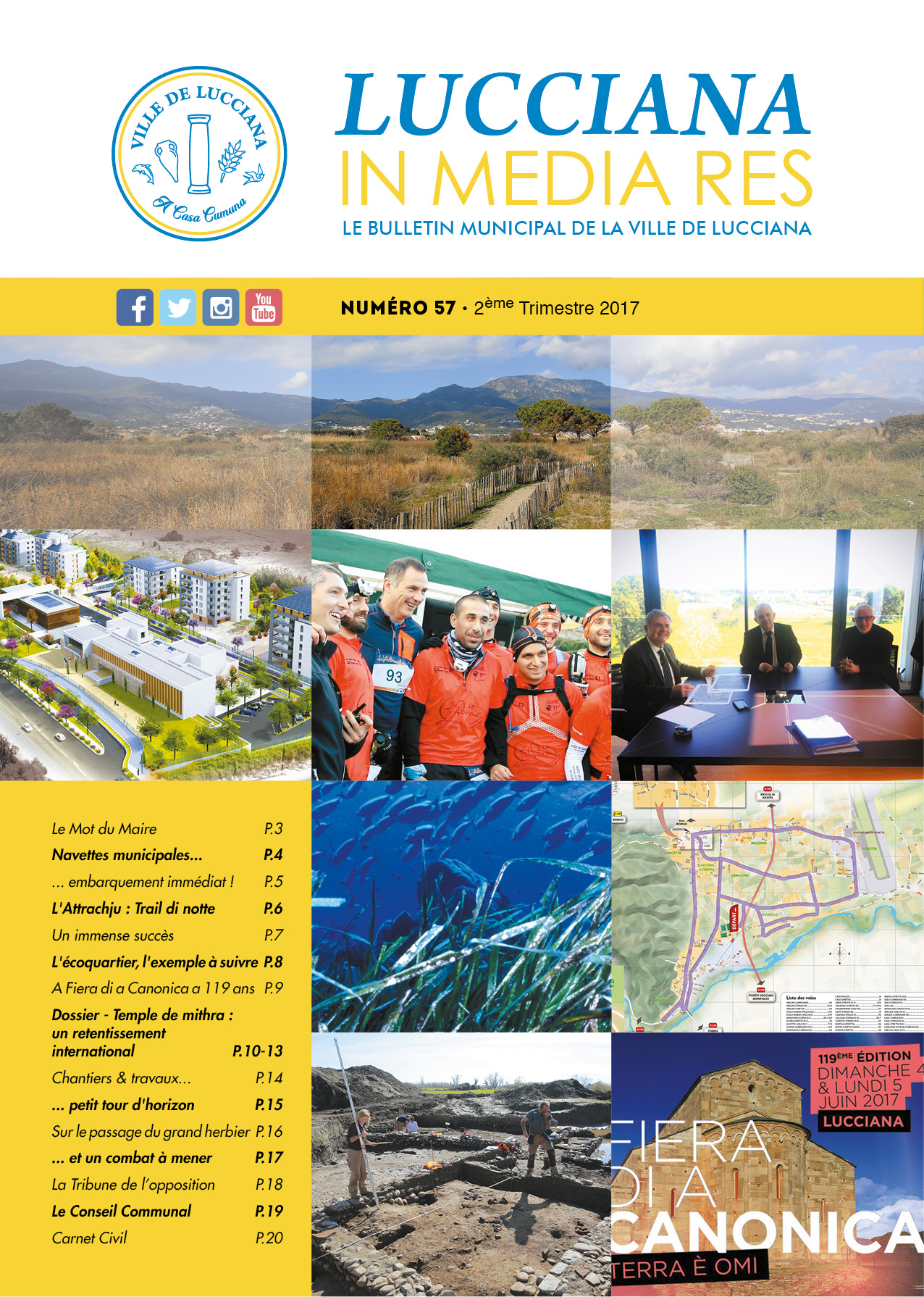 Bulletin Municipal Lucciana - Avril 2017 - V-Web