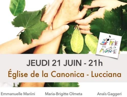 Fête de la musique : Le trio EmA# en concert à la Canonica