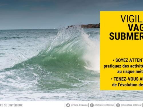 Alerte météo – Vigilance Vague-Submersion