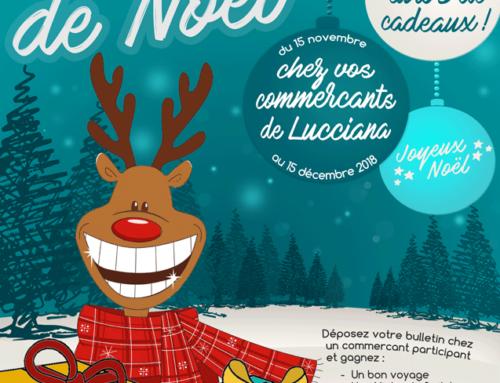 Grande loterie de Noël chez les commerçants de Lucciana