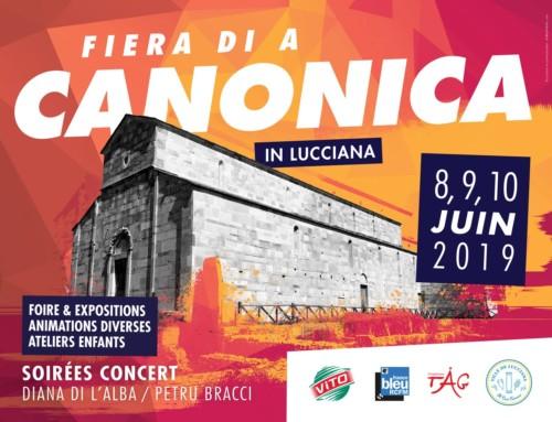 A Fiera di A Canonica 2019 : Demandez le programme !