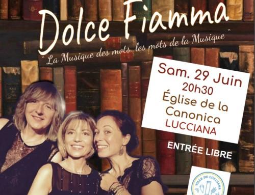 Le trio EmA# en concert à la Canonica