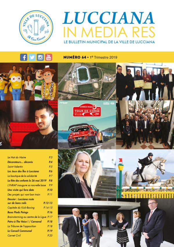 Bulletin Municipal Lucciana - Fév 2019 - Couv