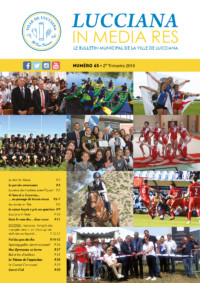 Bulletin Municipal Lucciana - Juillet 2019 - Couv