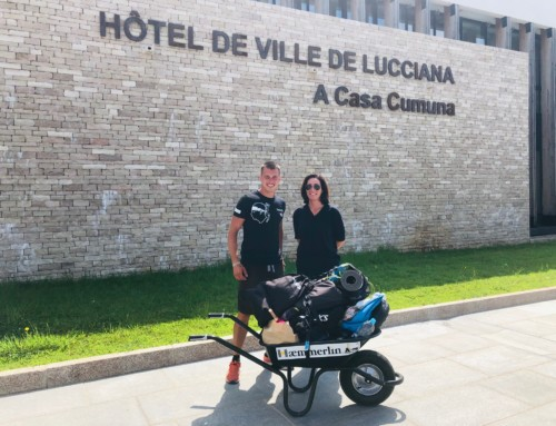 Vincent : Des kilomètres avec sa brouette pour parler de la maladie de Charcot