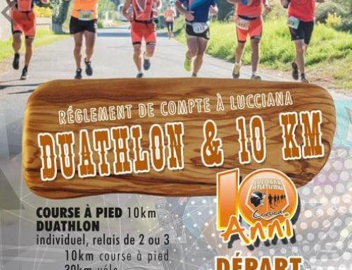 Duathlon et 10KM du Lucciana Atletismu