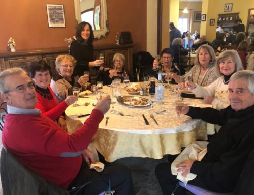 Le repas des Séniors au Castellu Rossu