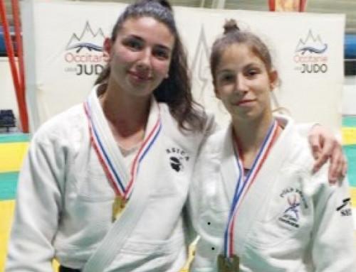 Léa Carrière, du judo club Lucciana, aux championnats de France !