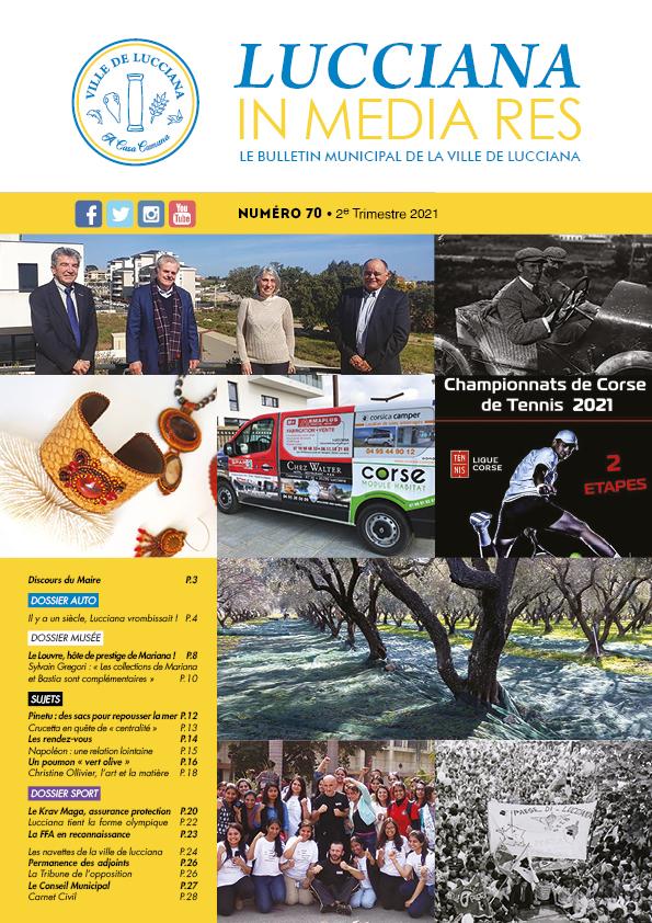 Bulletin Municipal Lucciana - Avril 2021 Couv