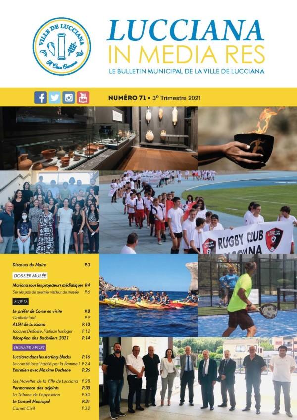 Pages de Bulletin Municipal Lucciana - Août 2021 V5-Web